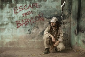 """His most recent CD, """"Escape from Babylon"""""""