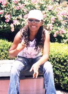Tanya Stephens in San Francisco on June 1, 2004
