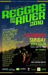 Reggae on the River 2010 Flyer