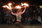 Primordial Spin Fire Dancers
